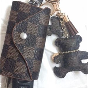 Accessories - Teddy bear keychains BROWN